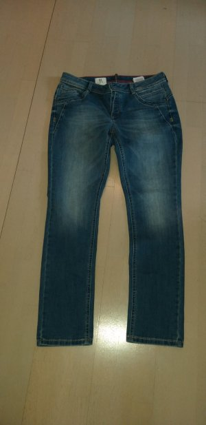 Strenesse Low Rise Jeans dark blue cotton