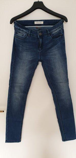 Street One Tube jeans leigrijs