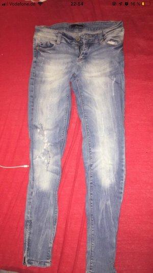 Tally Weijl Pantalone a sigaretta azzurro