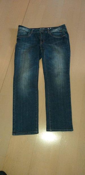 Tom Tailor Low Rise Jeans dark blue cotton
