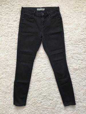 Topshop Petite Jeans cigarette noir-gris anthracite