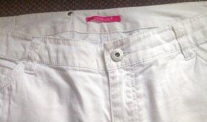 3 Suisses Straight Leg Jeans white cotton