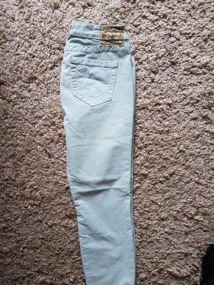 True Religion Jeans 3/4 bleu pâle