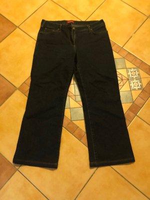 Wissmach Boot Cut Jeans dark blue