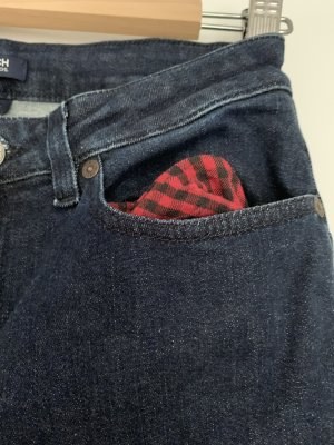 Woolrich Jeans slim bleu foncé