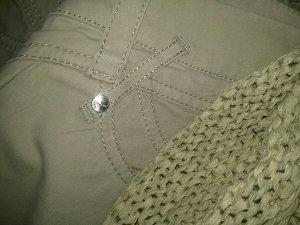 zaffiri Jeans stretch brun sable tissu mixte