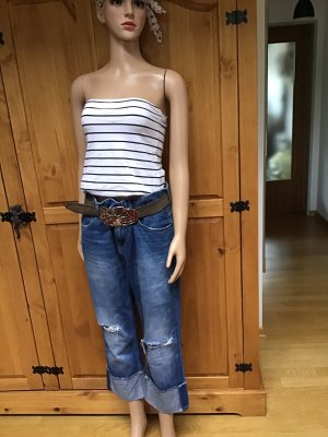 Zara Basic 3/4-jeans korenblauw