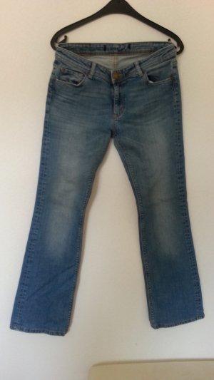 Jeans von ZARA - helle Waschung - gr. 38