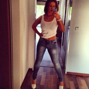Jeans von Zara, leicht blau