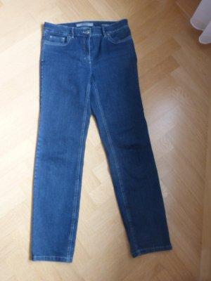 Zerres High Waist Jeans blue cotton