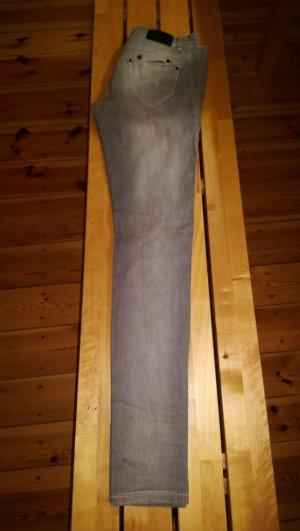 Jeans vsct skinny mit gerafften Details am Bein