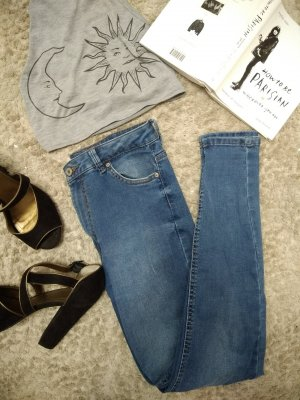 Jeans washed out Denim Bershka
