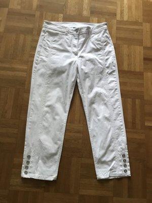 Fabiani Jeans a 7/8 bianco