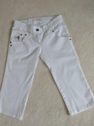 Jeans / weiß / knielang / Gr. 34 XS / Tally Weijl