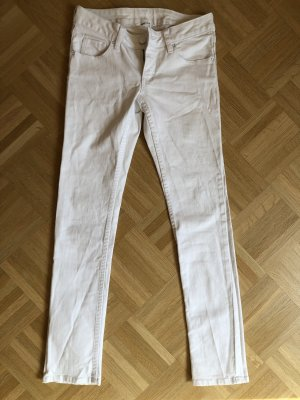 Jeans weiß Slim Fit