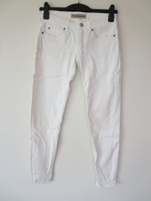 Jeans weiß Stretch 28/34