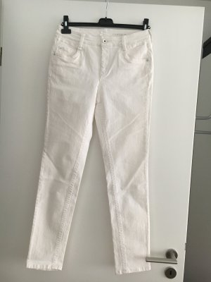 Atelier Gardeur Slim Jeans white cotton