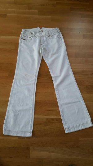 Jeans weiss von Mogul gerader Schnitt