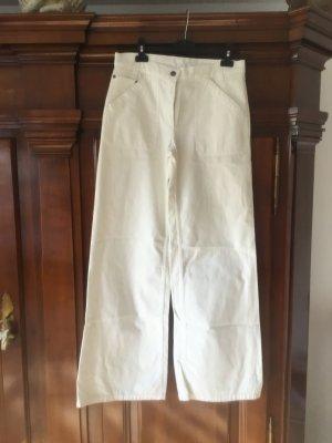 René Lezard Jeans marlene bianco sporco Cotone