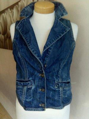 Arizona Gilet en jean bleu