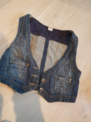 jeans weste ♡