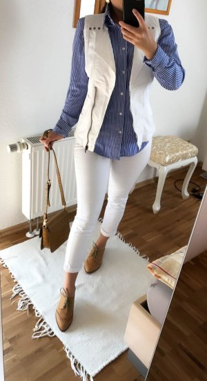 Jeans Weste 36 Neu weiss