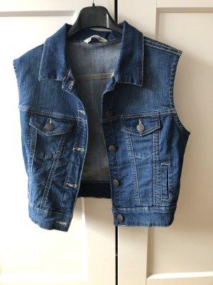 C&A Gilet en jean bleuet