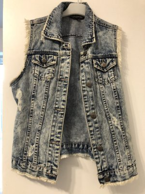 Tally Weijl Denim Vest cornflower blue