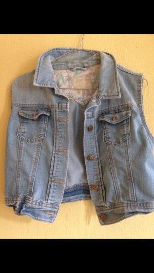 Jeans Weste / Used Look