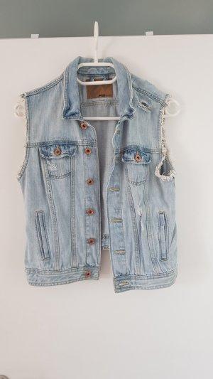 Amisu Smanicato jeans azzurro-blu