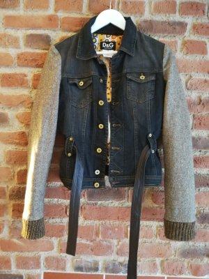 Jeans-Wolljacke von Dolce Gabbana