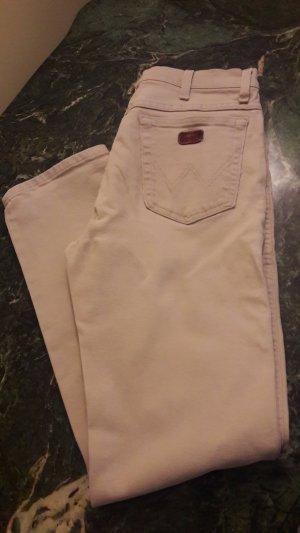 Wrangler Boot Cut spijkerbroek beige Katoen