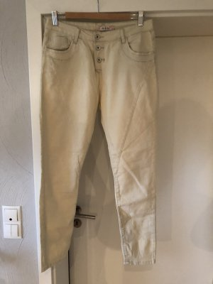 Zac & Zoe Biker jeans room-licht beige