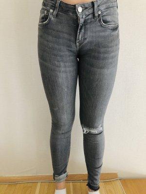 Zara Woman Skinny Jeans grey