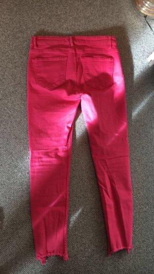 Zara Trafaluc Jeans 7/8 rose