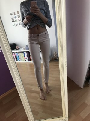Jeans Zara basic beige S