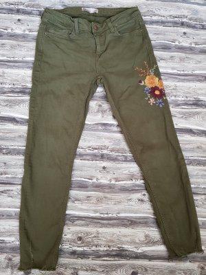 Zara Jeans a 7/8 cachi