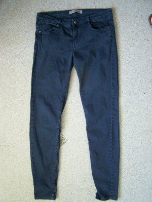 Jeans ZARA  Gr. 36-38, Stretch, Farbe: Petrol, gebraucht, gute Zustand