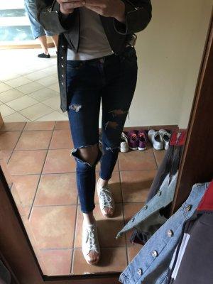 Jeans ZARA zerrissen 38/S