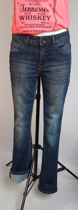 Zabaione Pantalone cinque tasche blu scuro