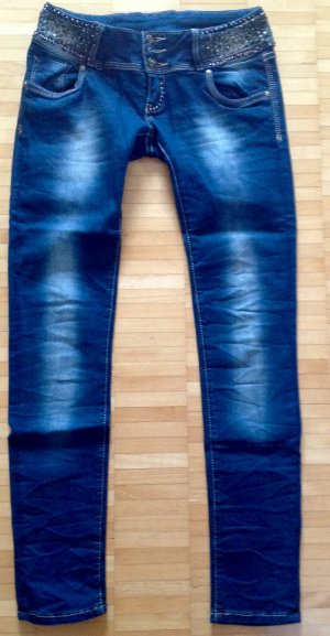 Jeansblau Sloggy Jeans slimm