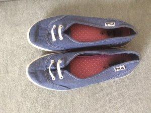 jeansblaue Ballerinas / Sneakers von Fila - Gr. 38