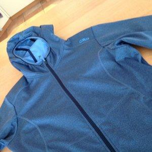 Jeansblaue Softshelljacke von CMP