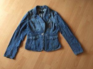 Escada Sport Blazer en jean bleu