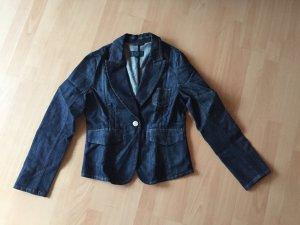 Escada Sport Blazer en jean bleu foncé