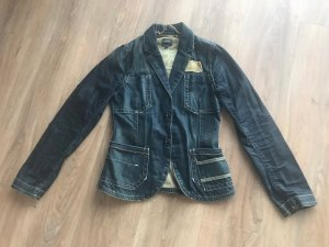 G-Star Raw Denim Blazer dark blue
