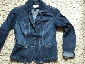 Linea Tesini Denim Blazer blue
