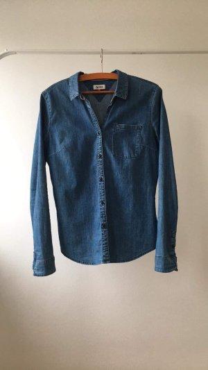 Tommy Hilfiger Denim Jeans blouse korenblauw-staalblauw