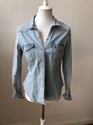 H&M Divided Jeans blouse veelkleurig