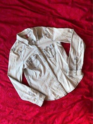 H&M Divided Jeans blouse azuur